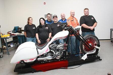 AMD Bike and Students