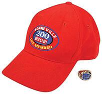 Red Bonneville Hat