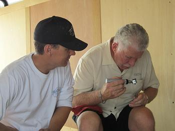 Chris Rivas and George B. Smith