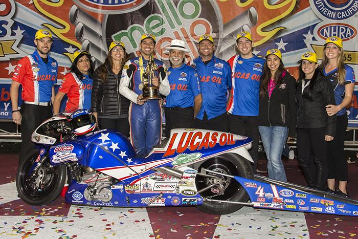 2014 NHRA Pomona Final
