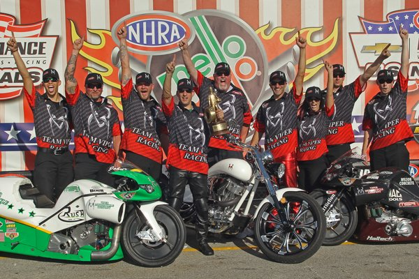 2013 NHRA IND Hall WC