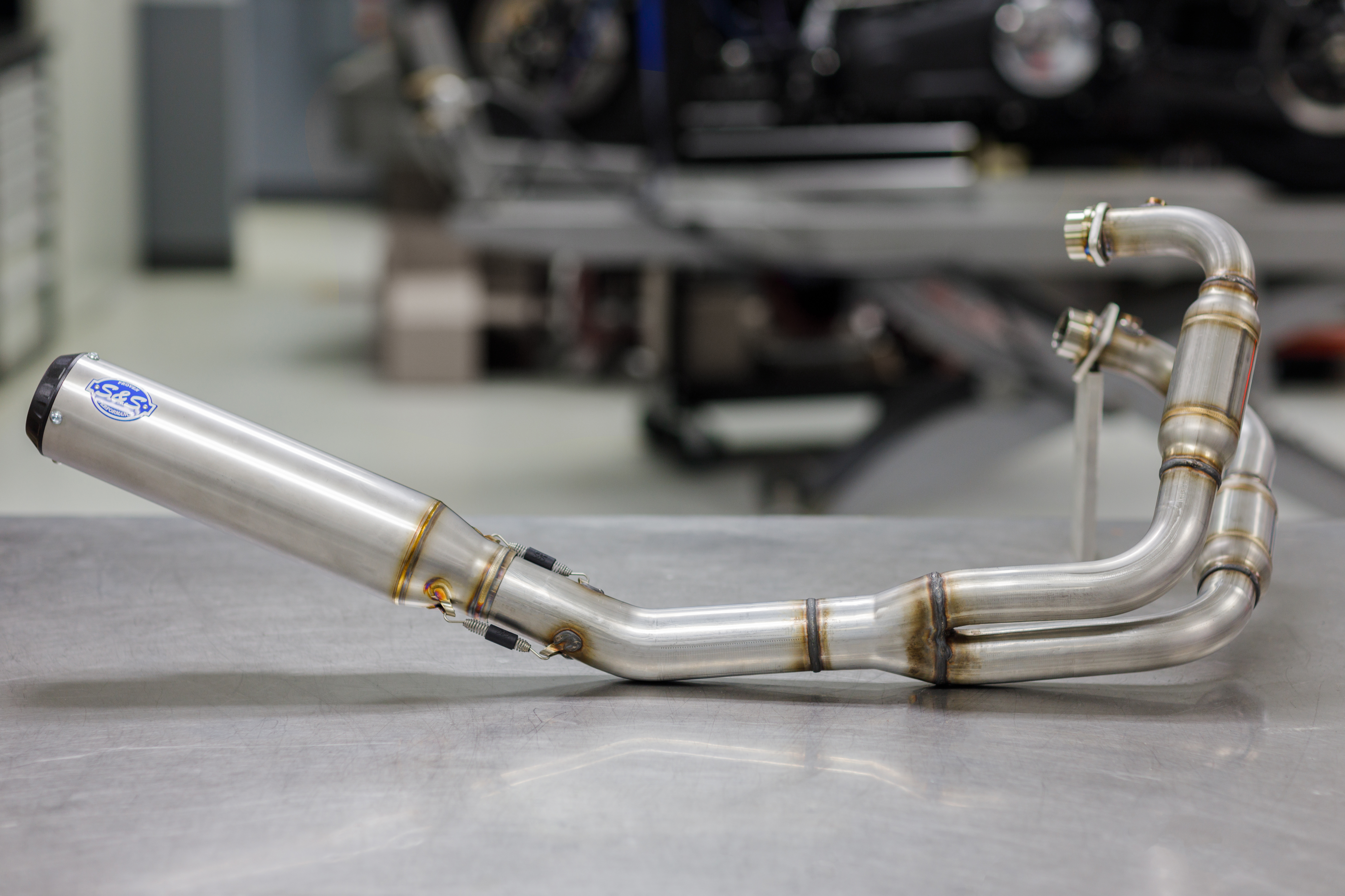 NEW STUFF ALERT - Qualifier 2:1 Stainless Exhaust for Royal Enfield 650 Twin